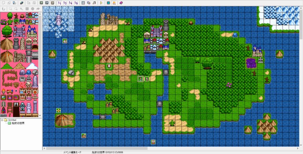 256色以内のドット絵のゲームを効率よく作りたい方